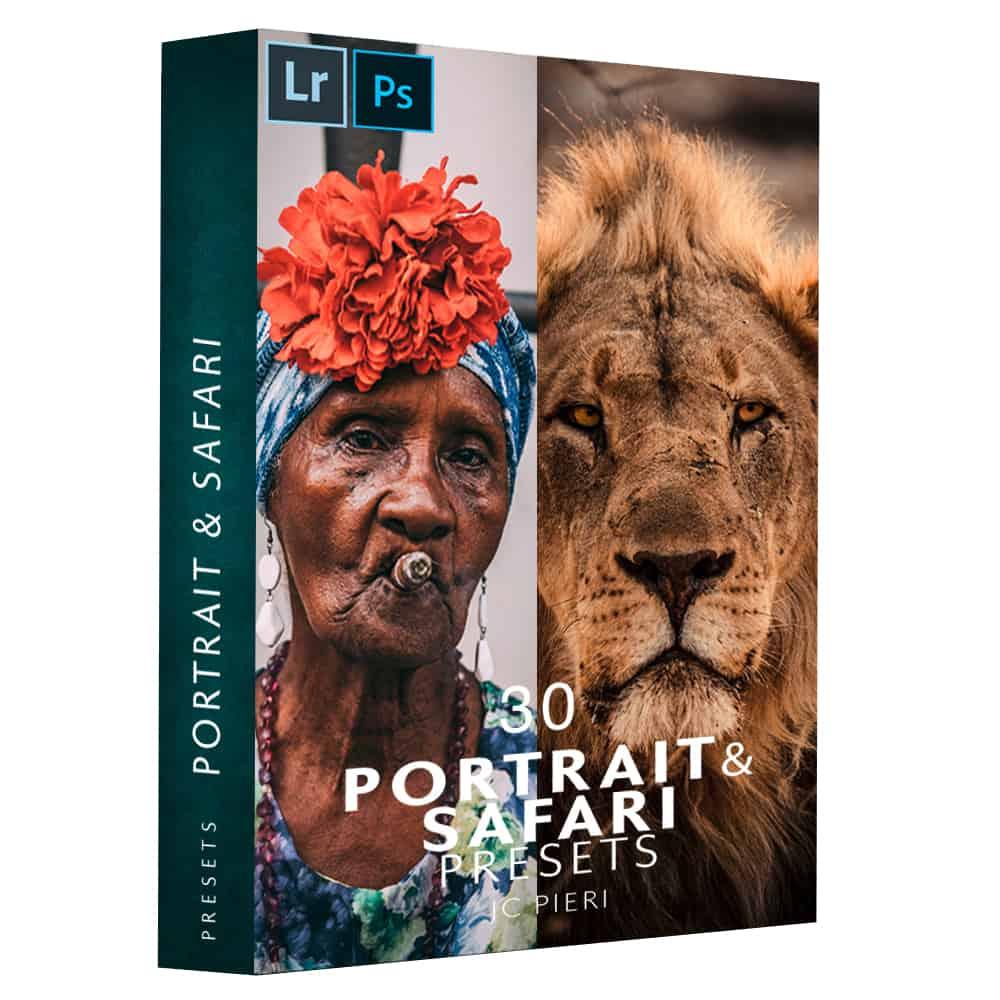 Pack 30 Presets Portrait & Safari